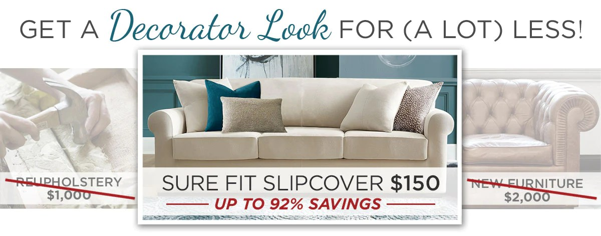 how much fabric to make a sofa cover white and loveseat slipcovers 101 surefit after you read the need know information on we invite browse our website use easy as 1 2 3 online product selector find
