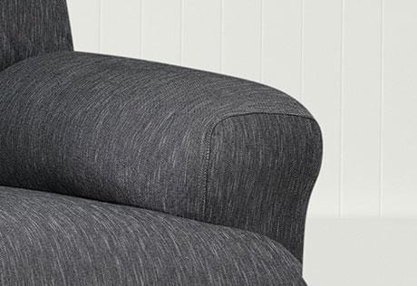 recliner chair covers grey teenage chairs for bedrooms stretch denim one piece slipcover surefit