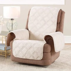 Faux Suede Sofa Slipcover Reading Recliner Covers & Slipcovers – Surefit