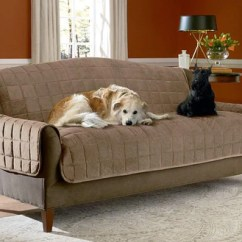 Sofa Coverings Dogs Clayton Marcus Bed Pet Solutions Furniture Covers Protectors Surefit Deluxe Comfort Cover With Arms