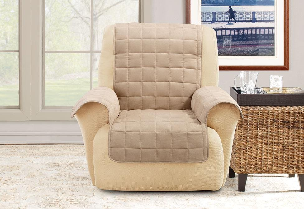 waterproof chair covers for recliners task office depot ultimate recliner furniture cover surefit