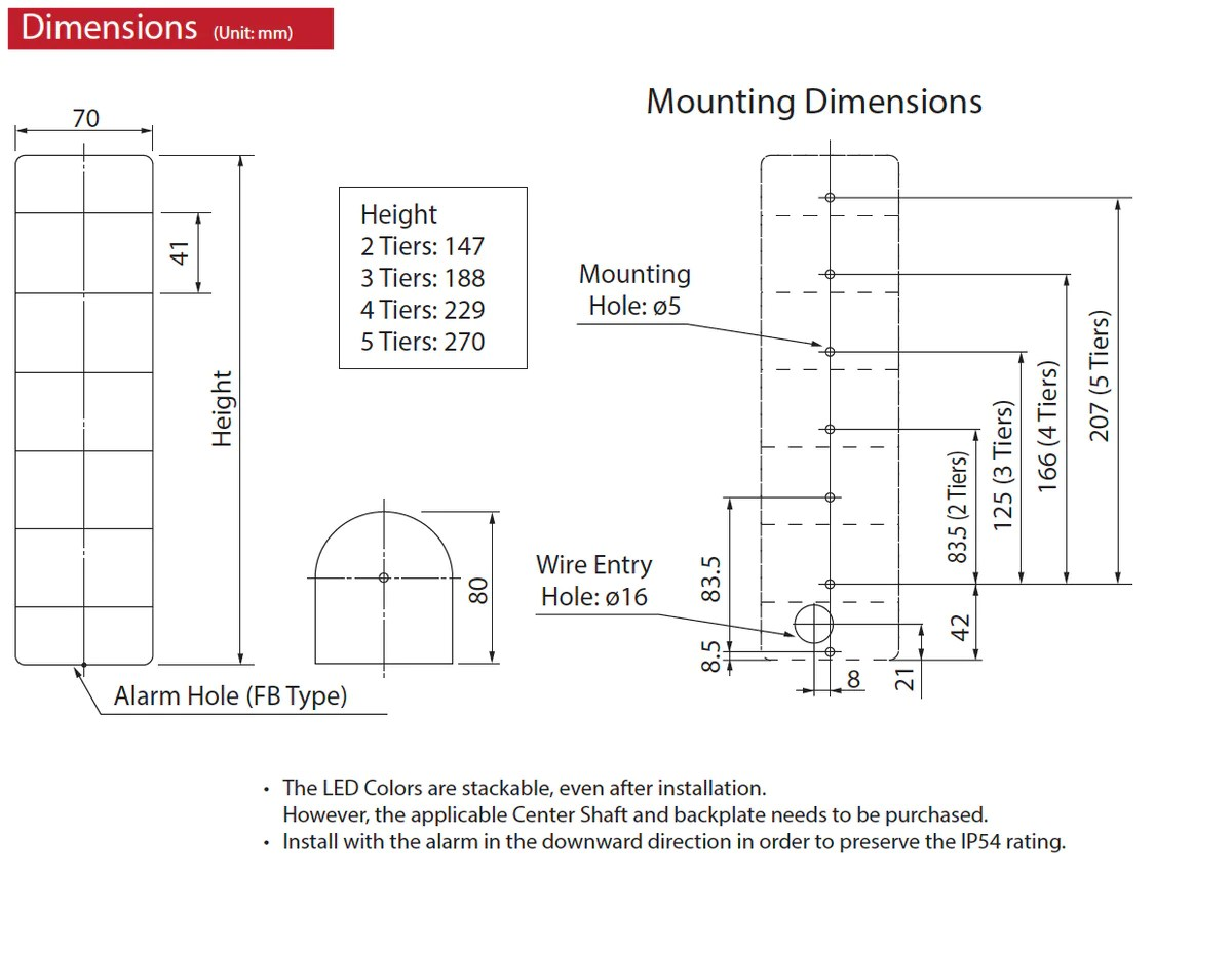 medium resolution of patlite signalfx wme wme a led signal light status indication australia led tower light waring