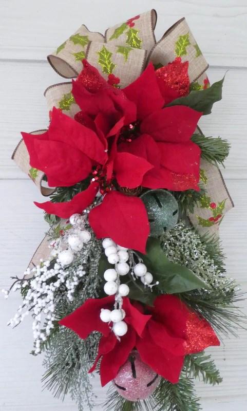 Christmas Poinsettia Decorations