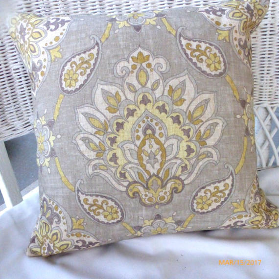 taupe ikat pillow cover accent pillow pillow covers throw pillow julie butler creations