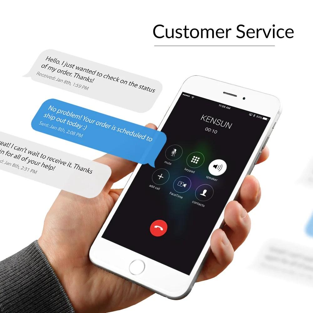 small resolution of great customer service at kensun