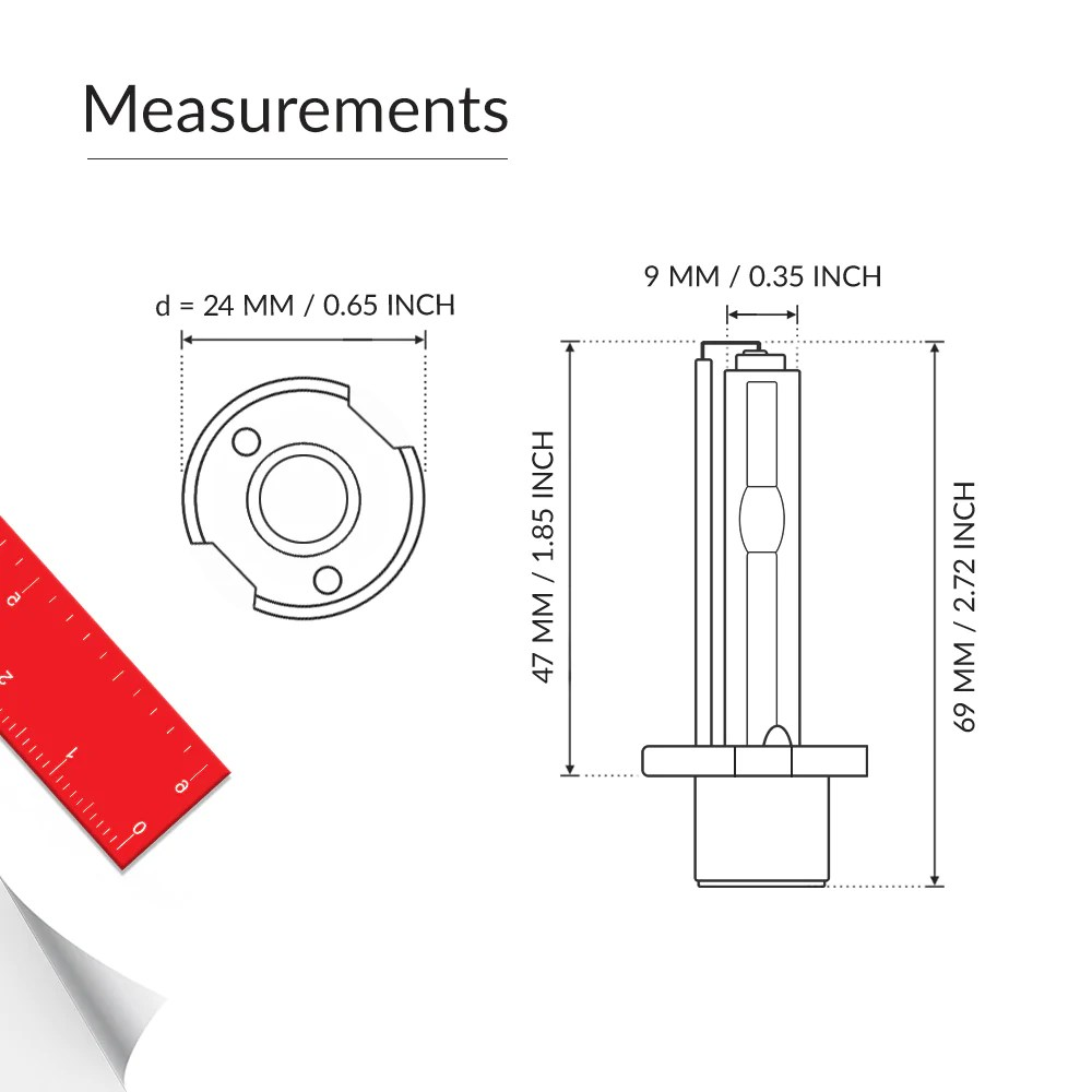 hight resolution of the bulb base of bright hid h3 bulbs