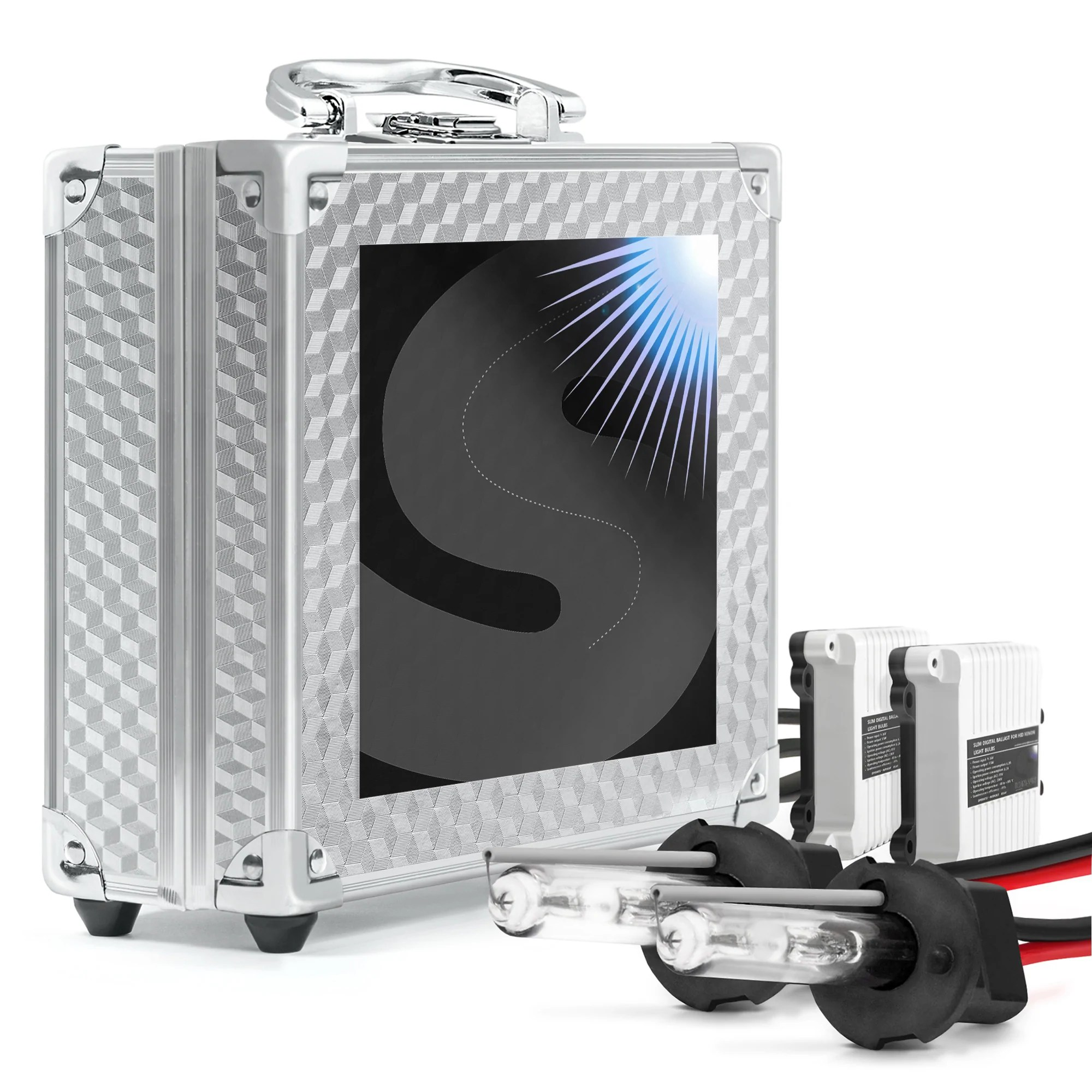 medium resolution of 55w h3 headlight conversion kit for the visibility on the road