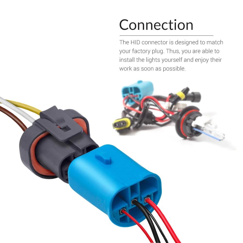 medium resolution of 35w hid 9004 dual beam low xenon high halogen conversion kit hb1 9004 hid kit wiring diagram