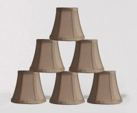 Silk Bell 5-inch Chandelier Lamp Shade - 5 Colors  urbanest