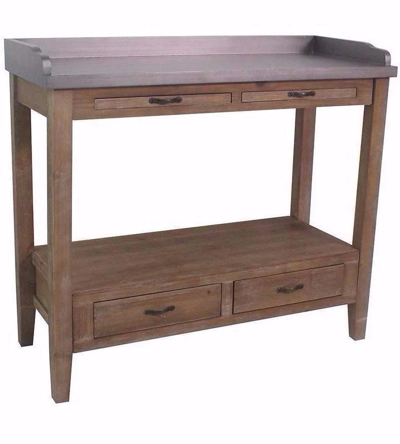 kitchen prep station island with table attached hunter bar cart and 32 inch tall gray natural