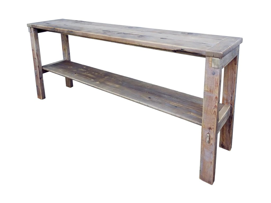 rustic cream sofa table world market abbott reviews cottage natural color reclaimed wood