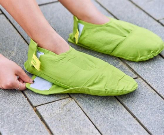 Đôi túi chườm thảo dược Bàn chân – Điện