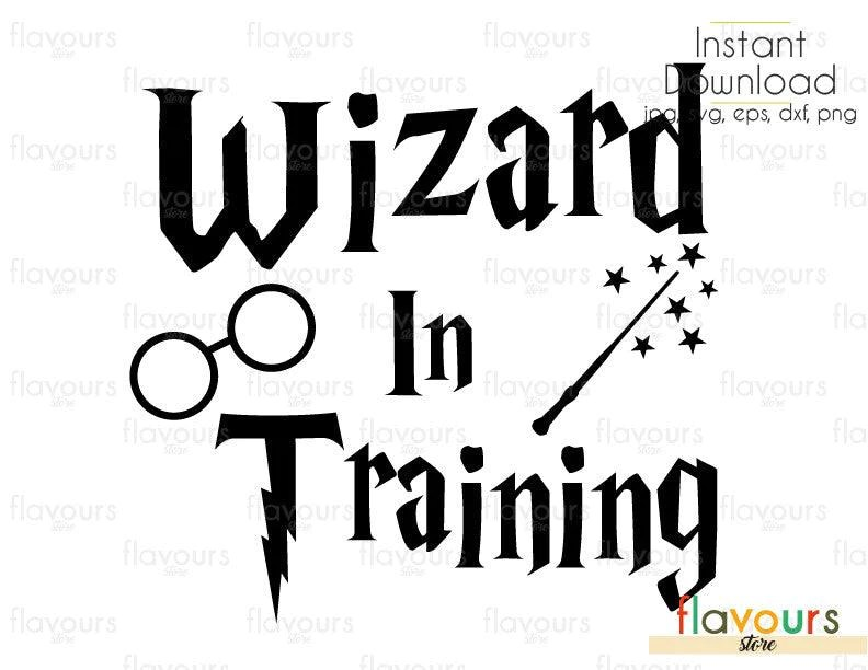 Download Wizard In Training - Harry Potter - Cuttable Design Files ...