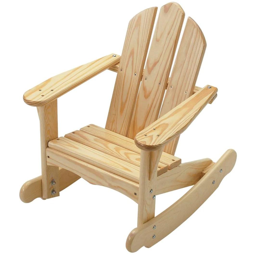 adirondack chair design history yellow bedroom ireland rocking  little colorado