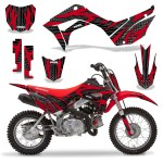 Honda Crf 110 F Graphics Kits Over 100 Designs To Choose From Invision Artworks Powersports Graphics