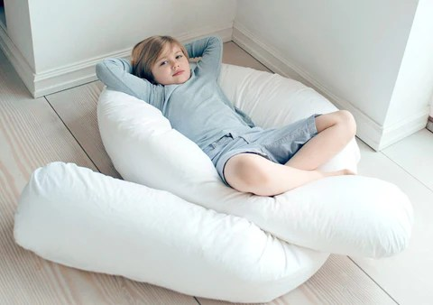 12Ft Comfort U Body Pillow  Pillowcase  Britains Bedding