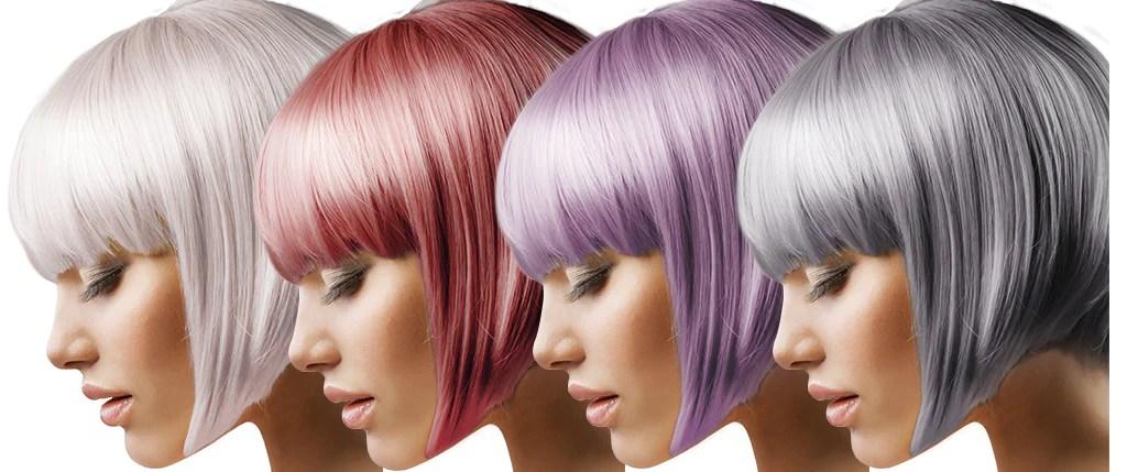 metallic hair dye won't damage