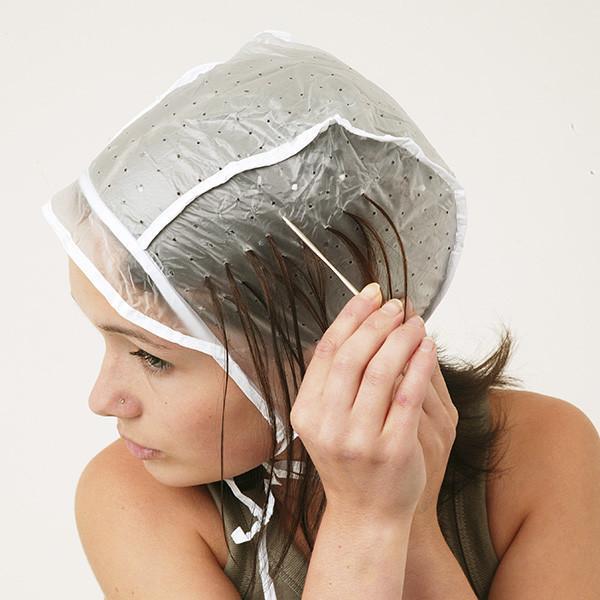 Highlighting Cap  Metal Hook Set  Hair Dye Accessories
