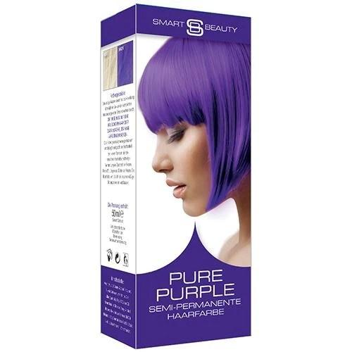 purple vibrant hair dye semi-permanent