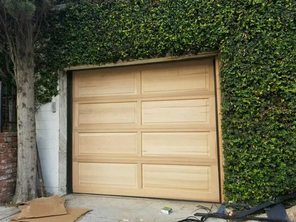 Denver  Colonial Style Custom Wood Garage Door  Lux Garage Doors