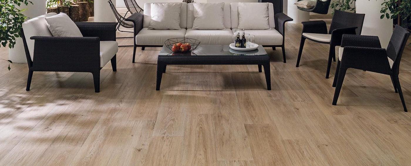 timber look slip resistant tiles