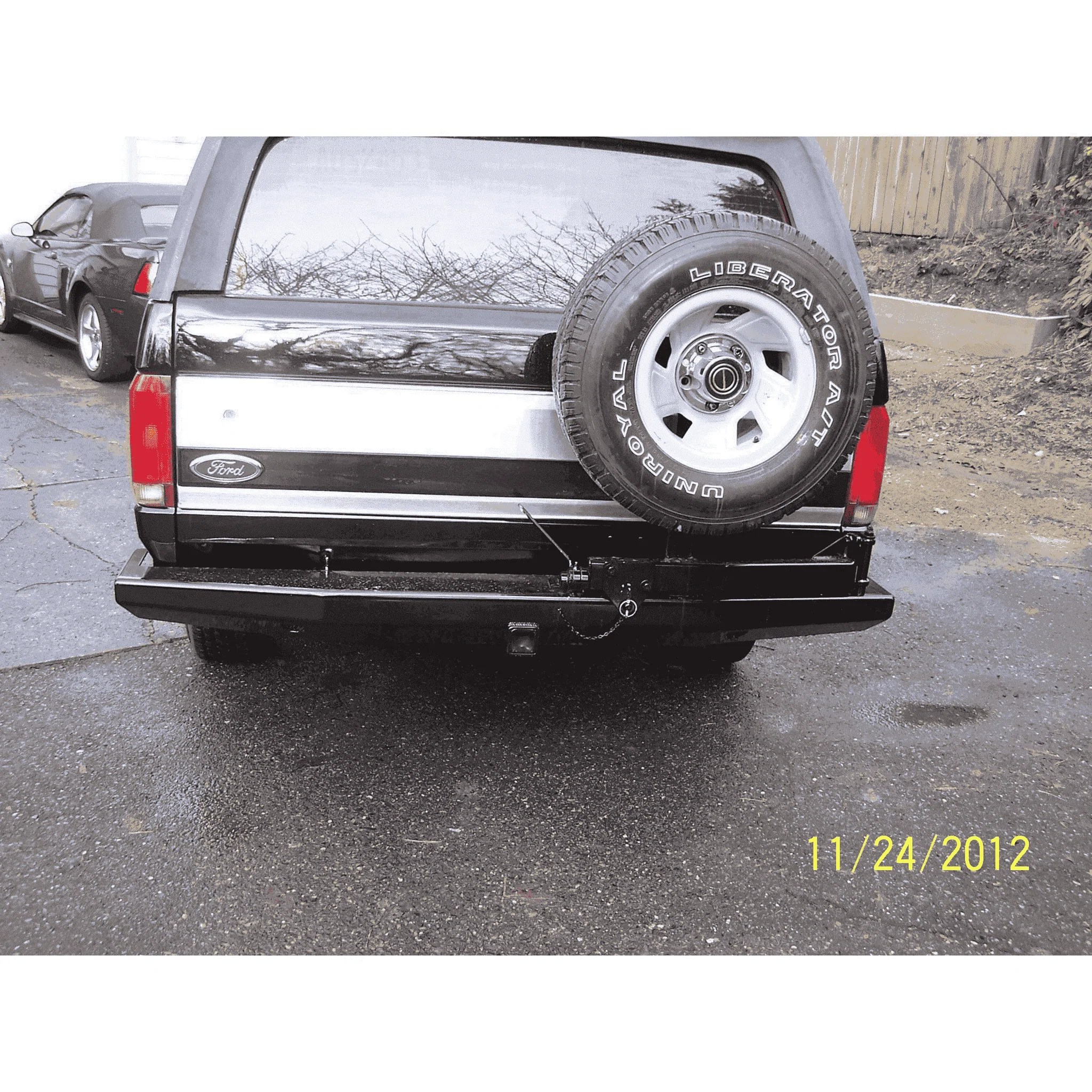 hight resolution of ford bronco bumper bronco rear bumper 1978 1996 kevinsoffroad com