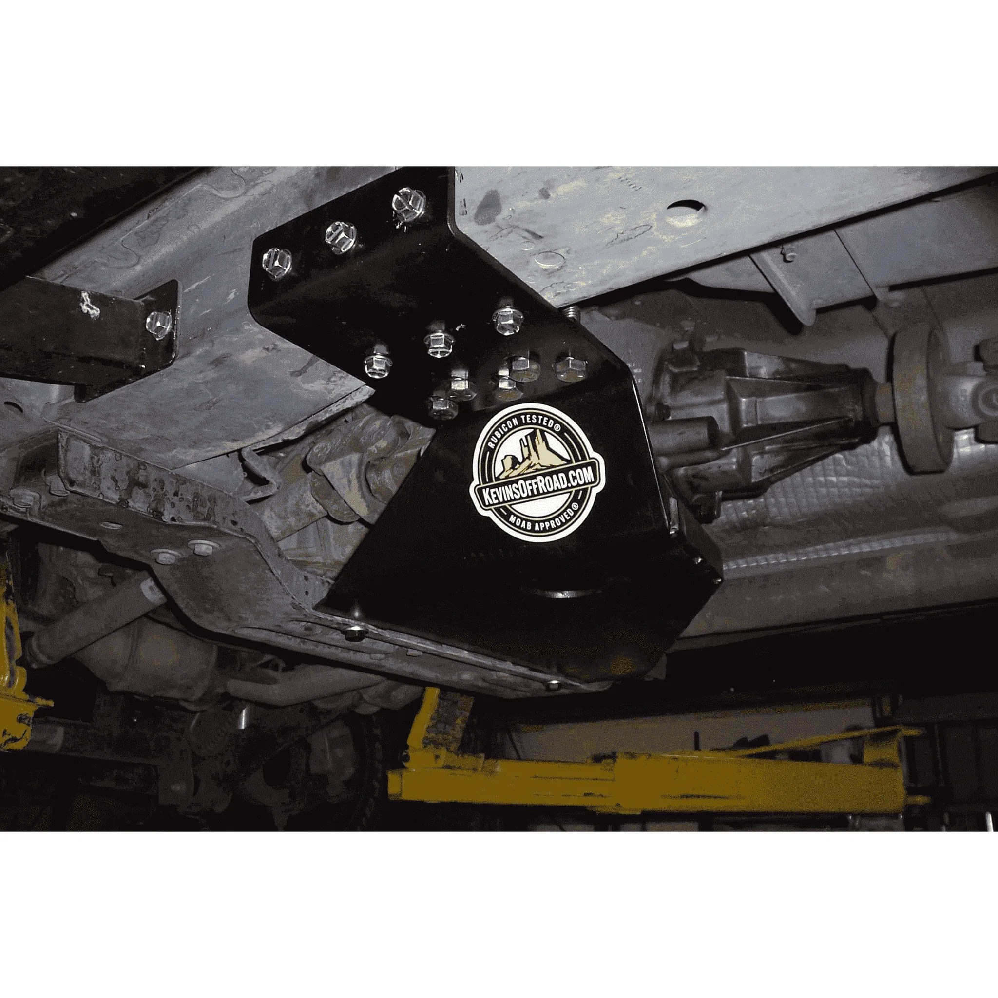 hight resolution of jeep grand cherokee wj transfer case skid plate kor 7102 kevinsoffroad com