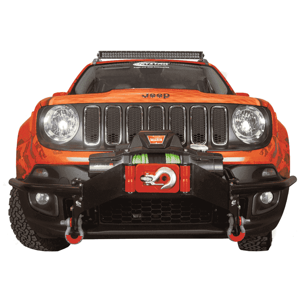 jeep renegade winch bumper guards [ 1000 x 1000 Pixel ]