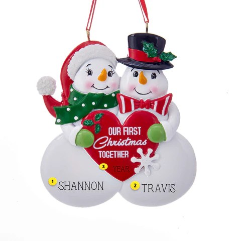 Christmas Ornaments For Couples