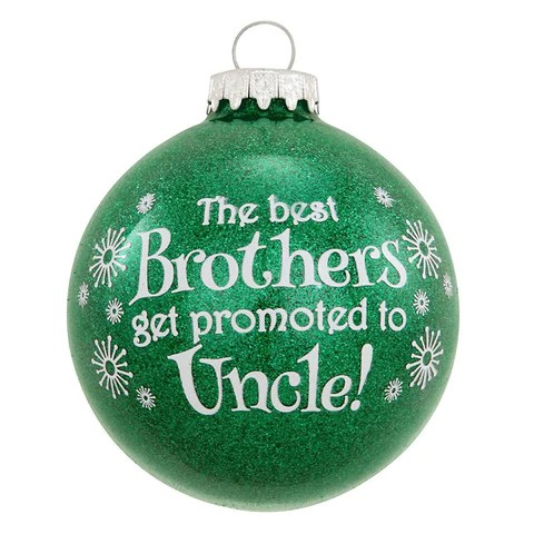 Expectant Parents Christmas Ornaments