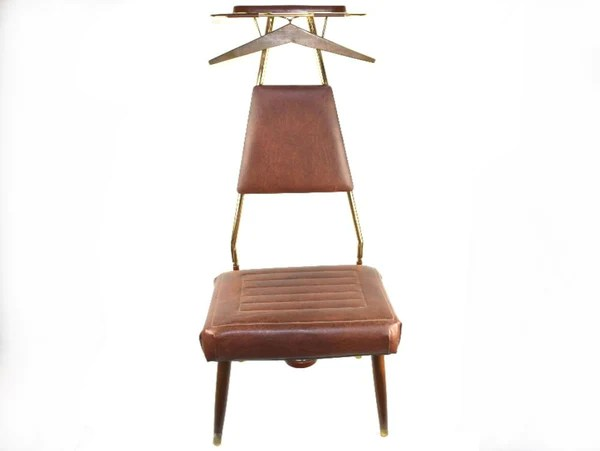 mens valet chair wicker swing outdoor vintage brass butler floor stand suit and accessory bench chaseybluevintage