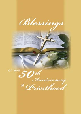 2679 50th Jubilee Priesthood  Cards by Sandra Rose