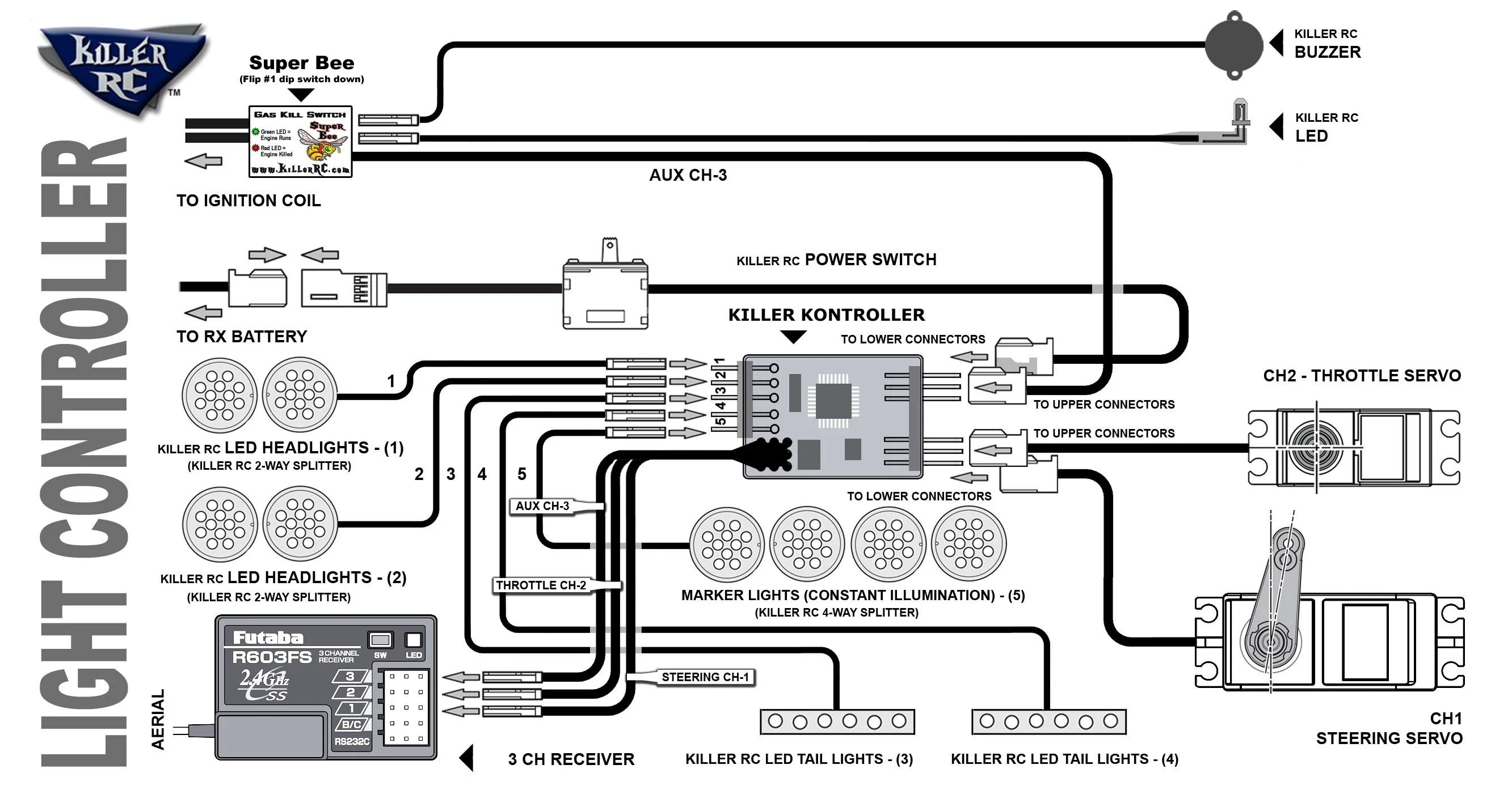 small resolution of light controller diagram killer controller v3 3 channel configuration