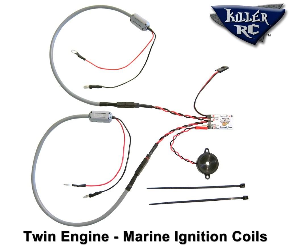 Super Bee Kill Switch Twin Engine Car  Boat Kit – Killer RC
