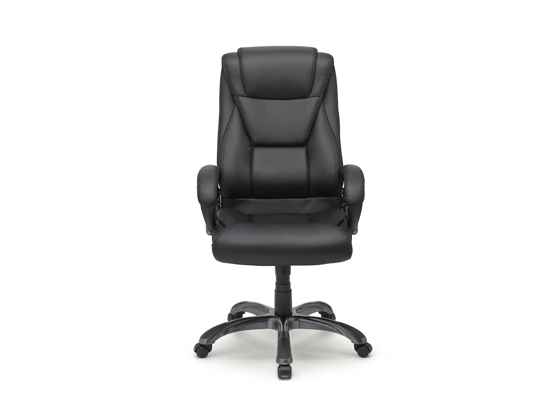 office chair leaning to one side outdoor lift executive lumbar support crossford