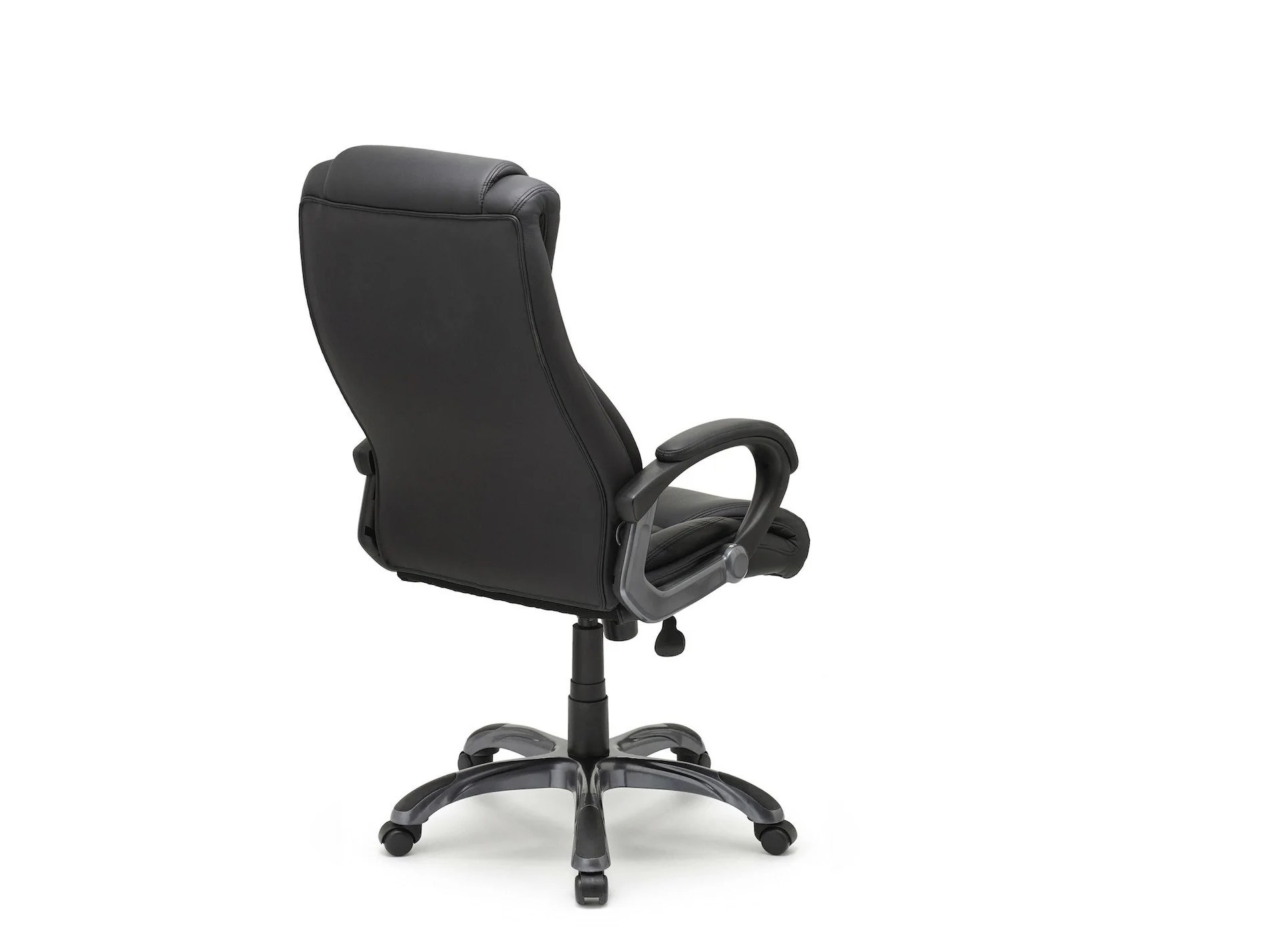office chair leaning to one side tree stand executive lumbar support crossford