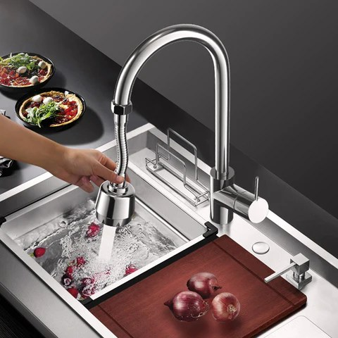 flexible faucet sprayer attachment
