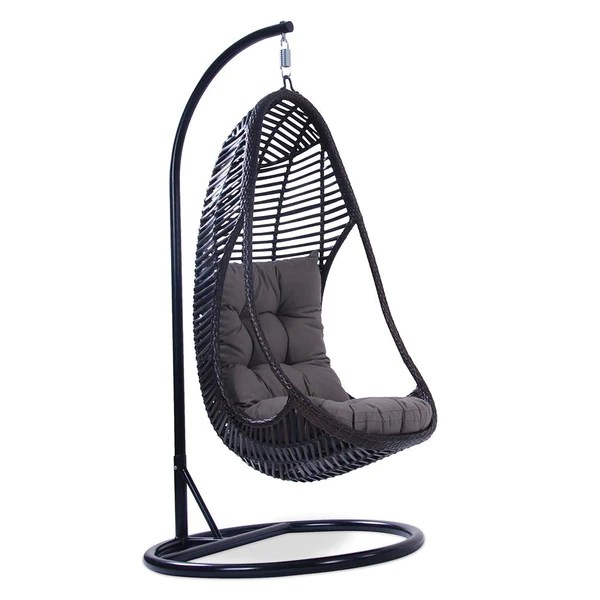 Cici Wicker Outdoor Hanging Egg Chair Text Interior Secrets