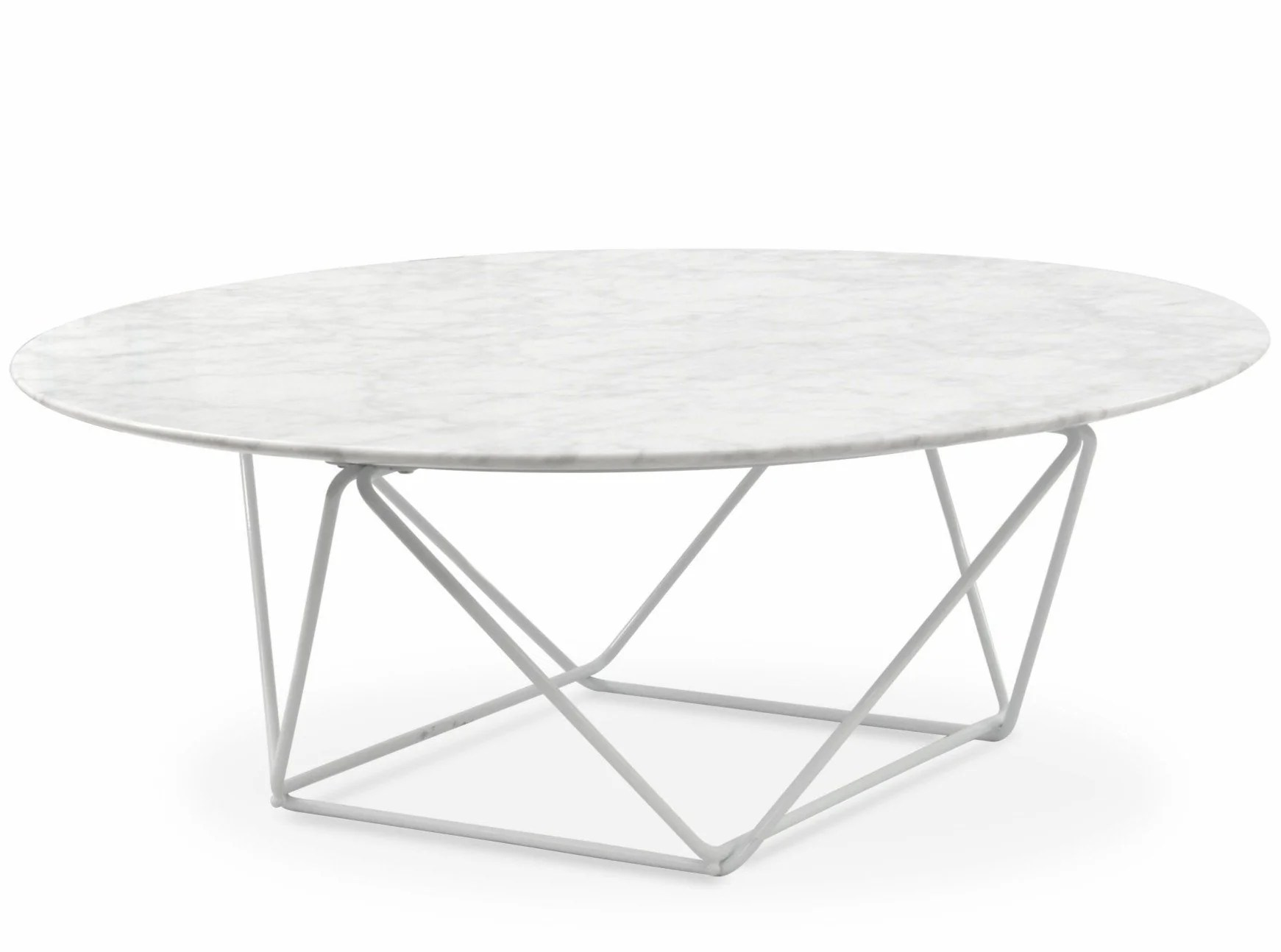 Robin 100cm Round Marble Coffee Table Whit Interior Secrets