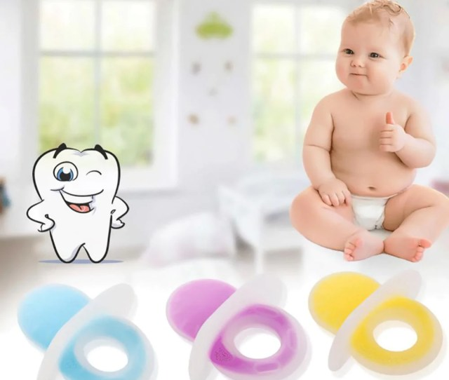 Fresh Deals Baby Toddler Pink Baby Silicone Two Color Cartoon Style Toy Nipples Teether