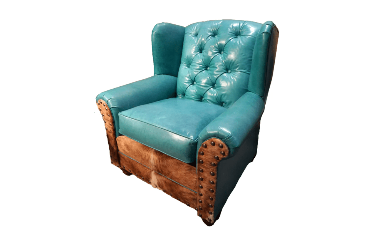 turquoise wingback chair sleeper chairs amazon quotalbuquerque quot chaise lounge