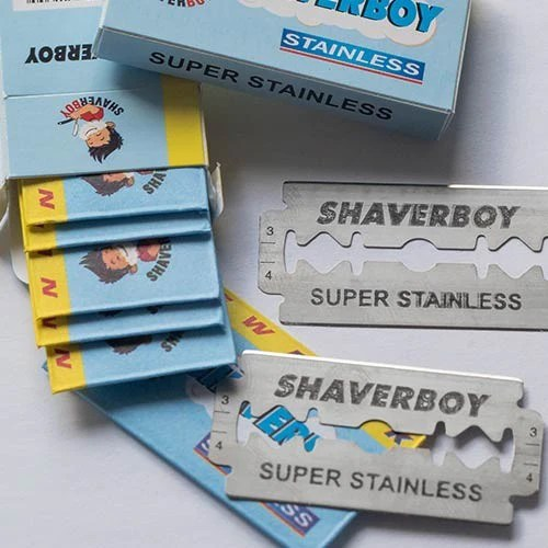 100 Original Shaverboy Blades