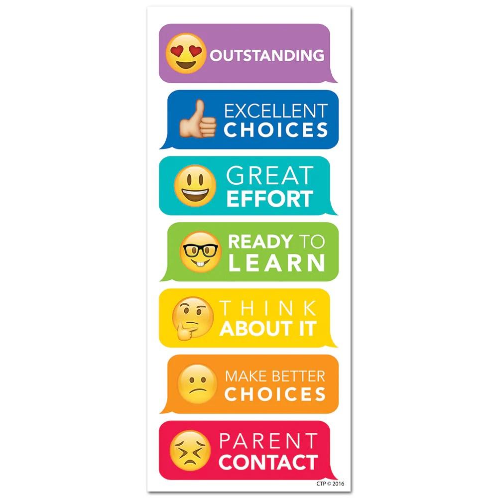 Emoji fun desktop behavior clip charts also  creative teaching press rh creativeteaching