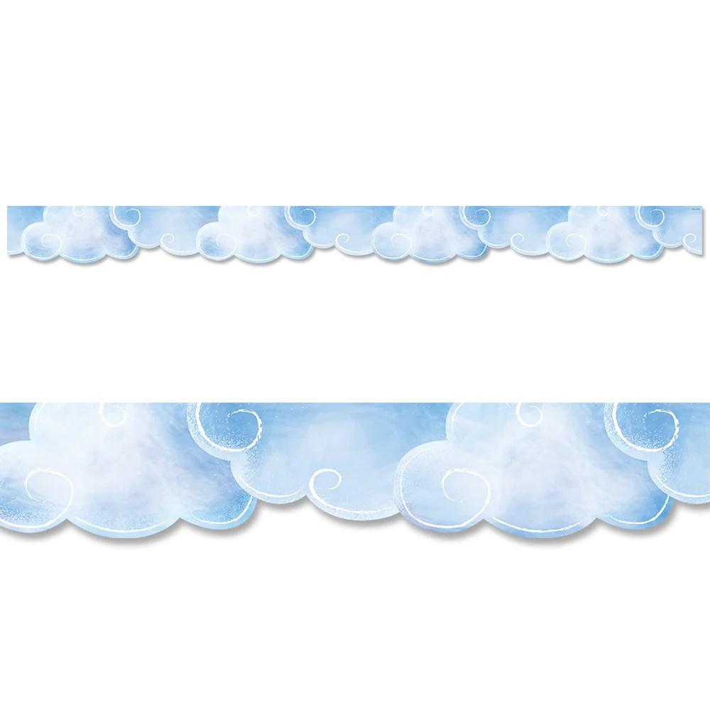 medium resolution of Clouds Border – Creative Teaching Press
