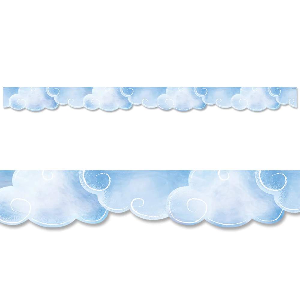 hight resolution of Clouds Border – Creative Teaching Press