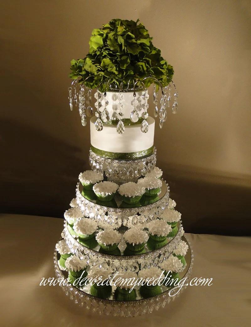 Wedding Cupcake Stand Stunning & Gorgeous Decorate