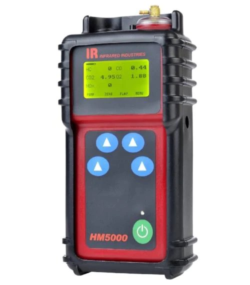 infrared industries hm5000 handheld exhaust gas analyzer best for motorcycles