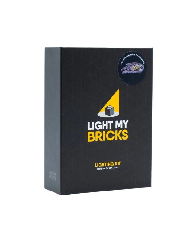 lego star wars ucs millennium falcon 75192 light kit
