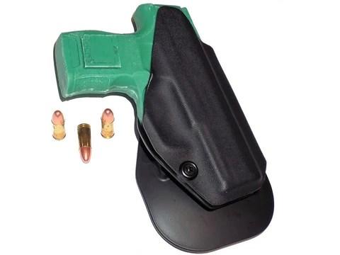 Aggressive Concealment P365OWB OWB Kydex Paddle Holster Sig Sauer P365