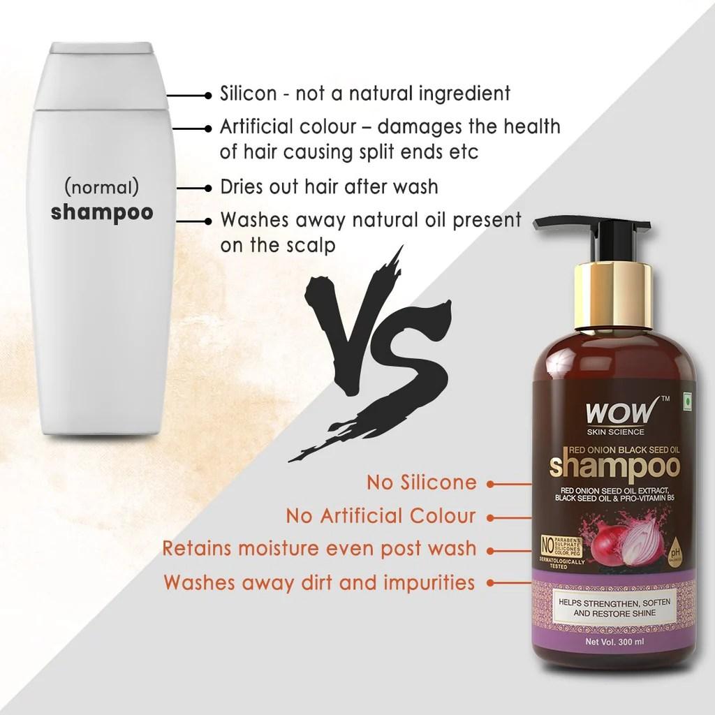 Wow Skin Science Onion Ultimate Hair Care Kit Shampoo Hair